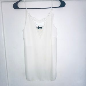 Tops - X-small White tank top